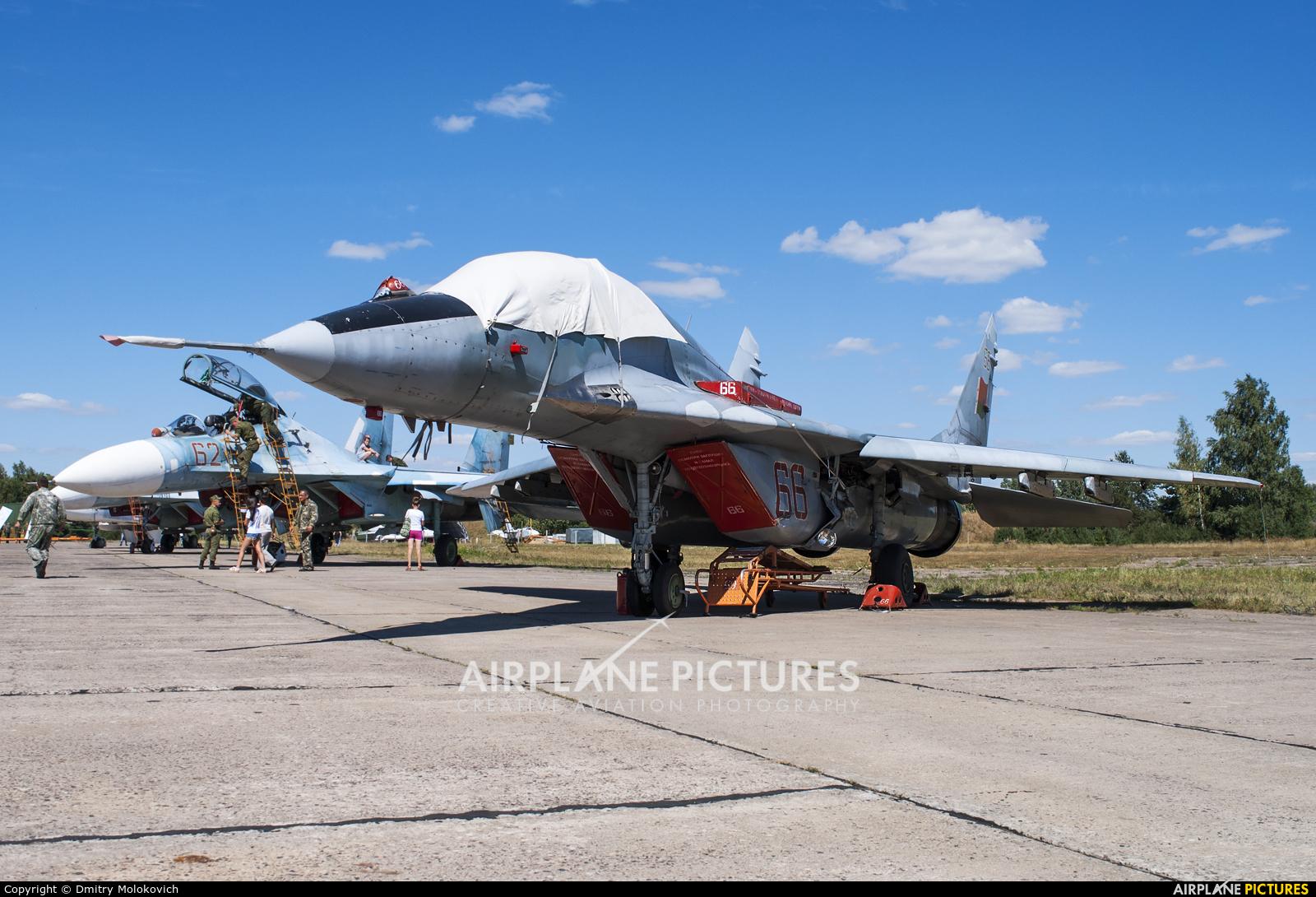 Belarus - Air Force 66 RED aircraft at Baranovichi