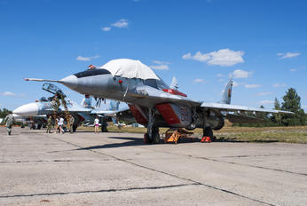 66 RED - Belarus - Air Force Mikoyan-Gurevich MiG-29UB
