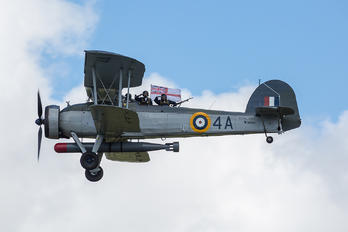 "W5856 - Royal Navy ""Historic Flight"" Fairey Swordfish II"