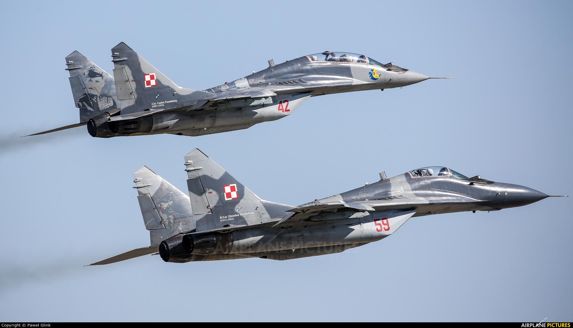 Poland - Air Force 59 aircraft at Mińsk Mazowiecki