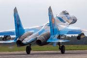 16 - Kazakhstan - Air Force Sukhoi Su-27 aircraft