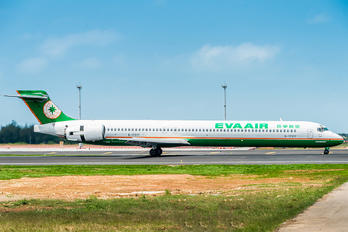 B-17917 - Eva Air McDonnell Douglas MD-90