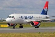 YU-APA - Air Serbia Airbus A319 aircraft