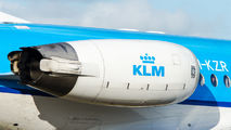 PH-KZR - KLM Cityhopper Fokker 70 aircraft