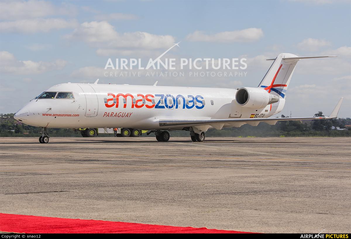 Amaszonas EC-ITU aircraft at Asuncion - Silvio Pettirossi Intl