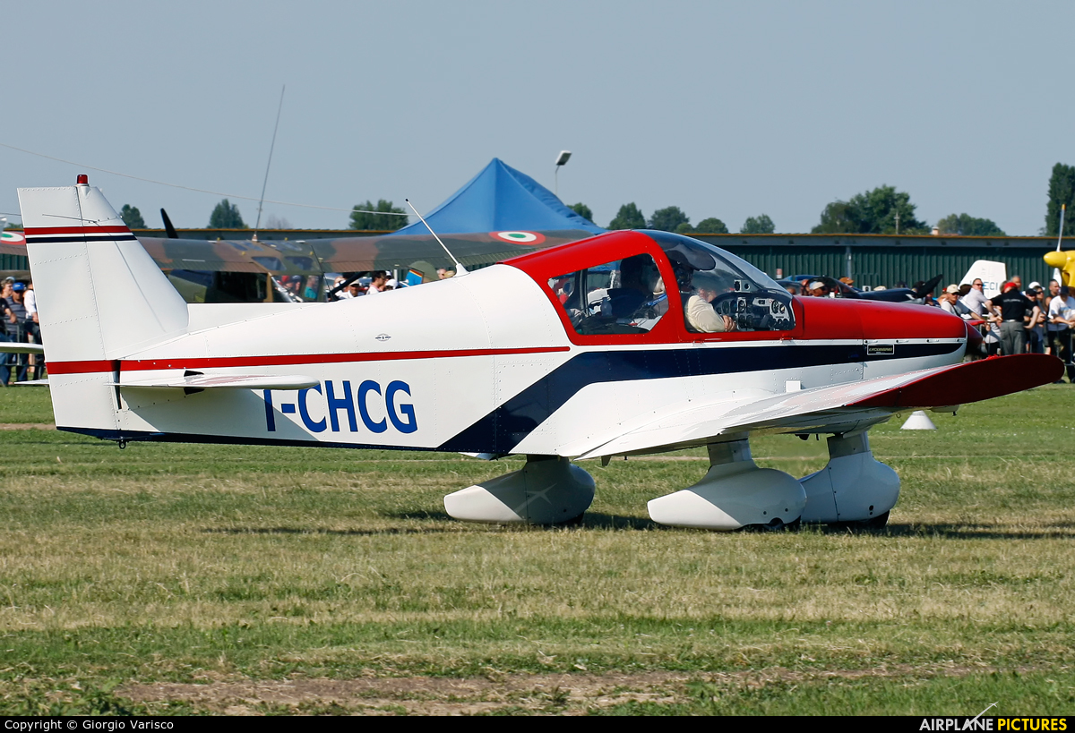 Private I-CHCG aircraft at Montagnana