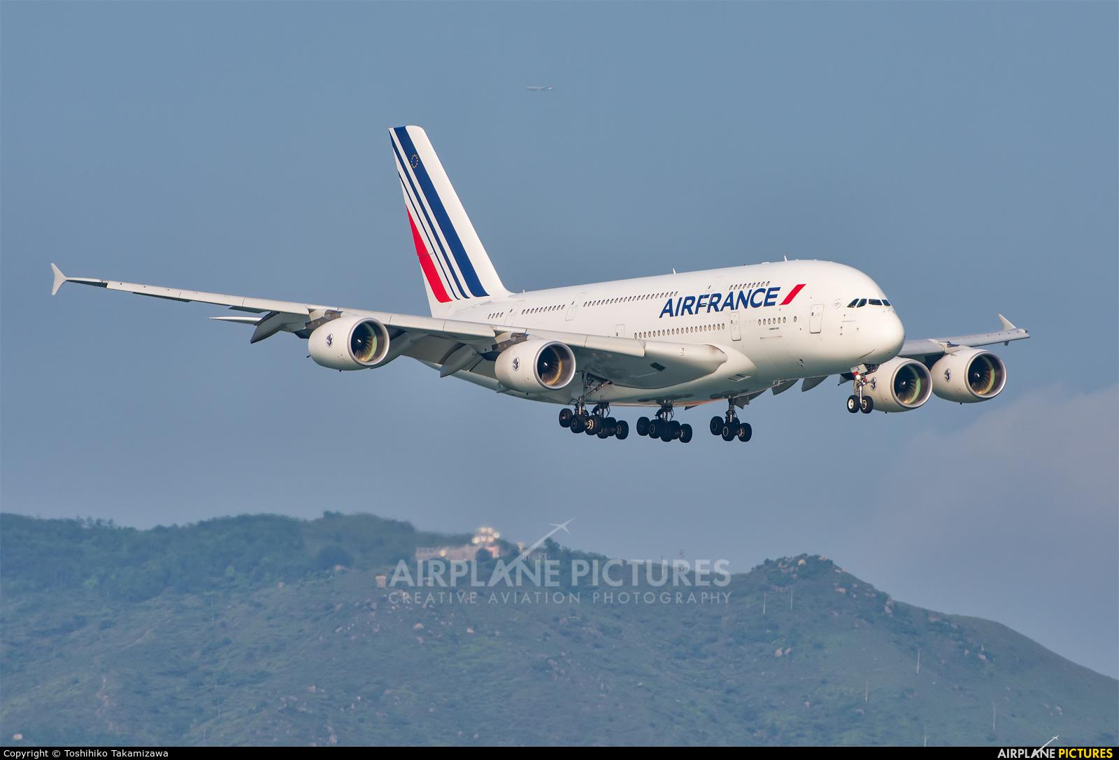 Air France F-HPJI aircraft at HKG - Chek Lap Kok Intl