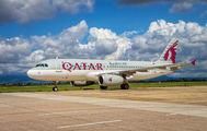 A7-AHH - Qatar Airways Airbus A320 aircraft