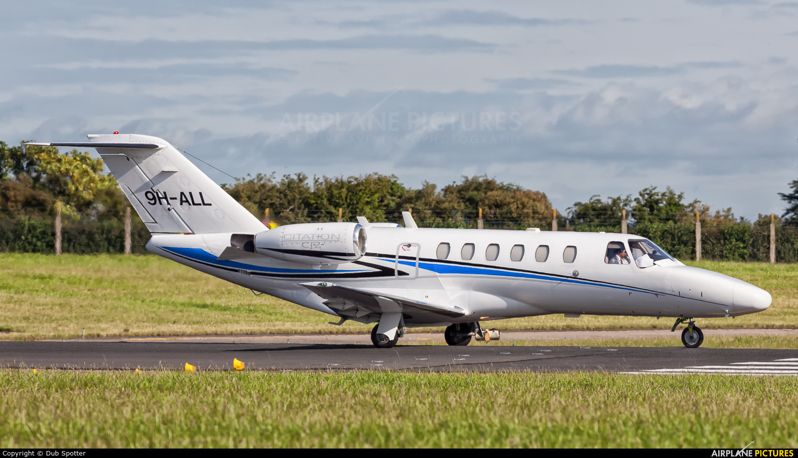 Lux Wing Group 9H-ALL aircraft at Dublin