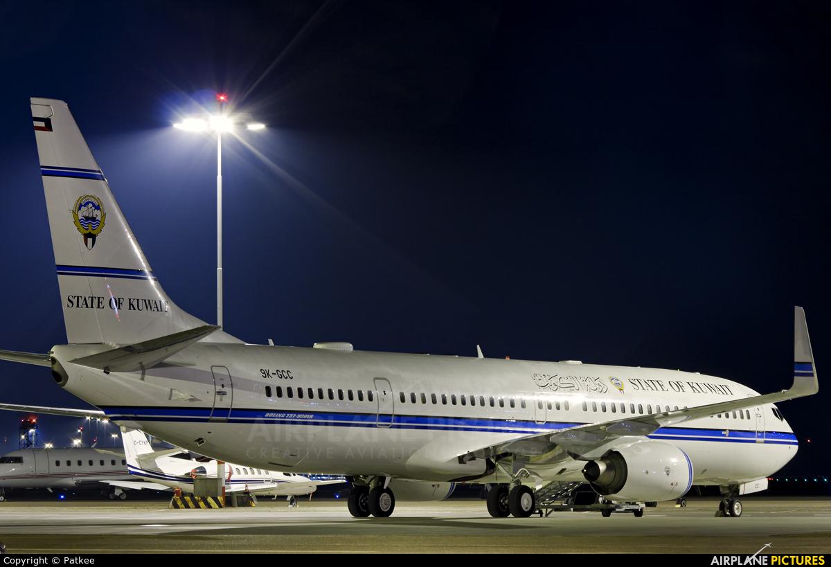 Kuwait - Government 9K-GCC aircraft at Amsterdam - Schiphol