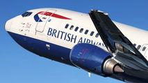 G-DOCX - British Airways Boeing 737-400 aircraft