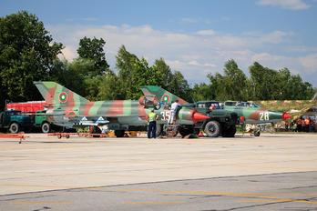 358 - Bulgaria - Air Force Mikoyan-Gurevich MiG-21bis
