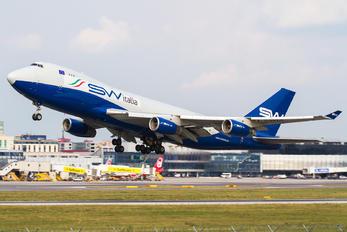 I-SWIA - Silk Way Italia Boeing 747-400F, ERF