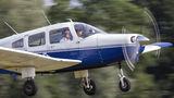 Private Piper PA-28 Warrior G-BOKX at Lashenden / Headcorn airport