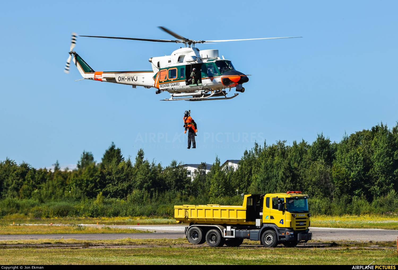 Finland - Border Guard OH-HVJ aircraft at Helsinki - Malmi