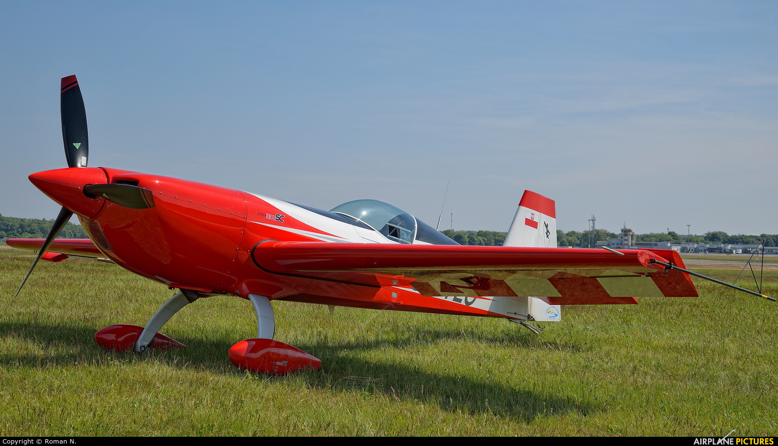 Private SP-TLC aircraft at Poznań - Ławica