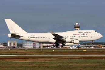 HS-STC - Orient Thai Airlines Boeing 747-400