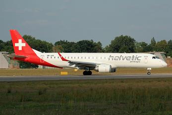 HB-JVQ - Helvetic Airways Embraer ERJ-190 (190-100)