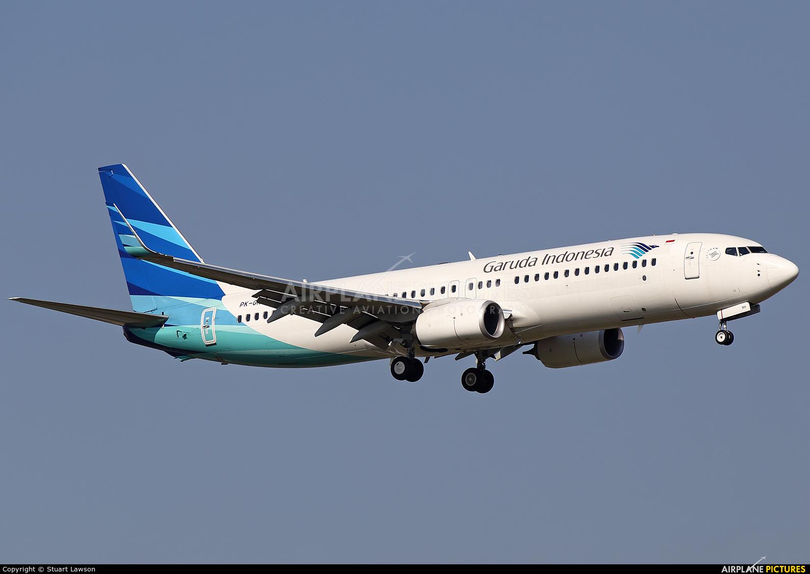 PK-GNH - Garuda Indonesia Boeing 737-800 at Bangkok ...