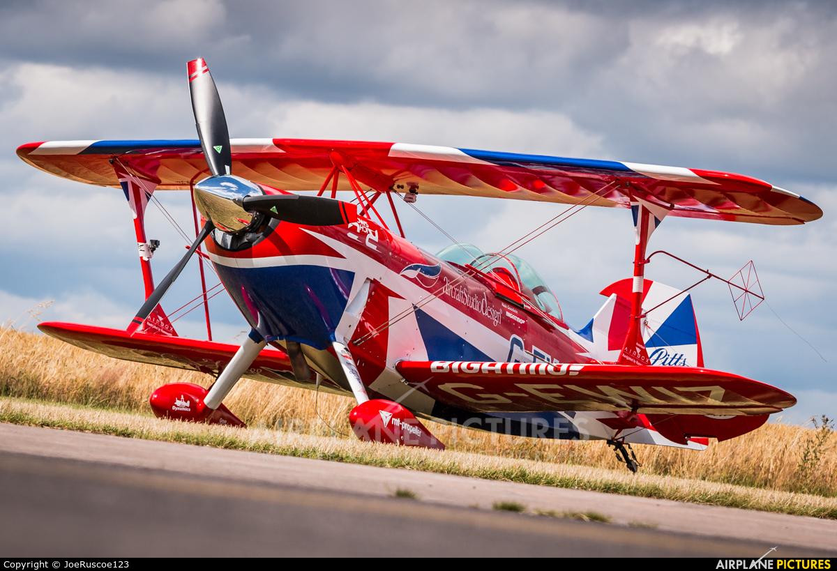 Rich Goodwin Airshows G-EWIZ aircraft at Sleap Airfield
