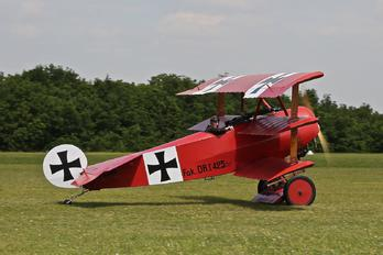 F-AYDR - Private Fokker DR.1 Triplane (replica)