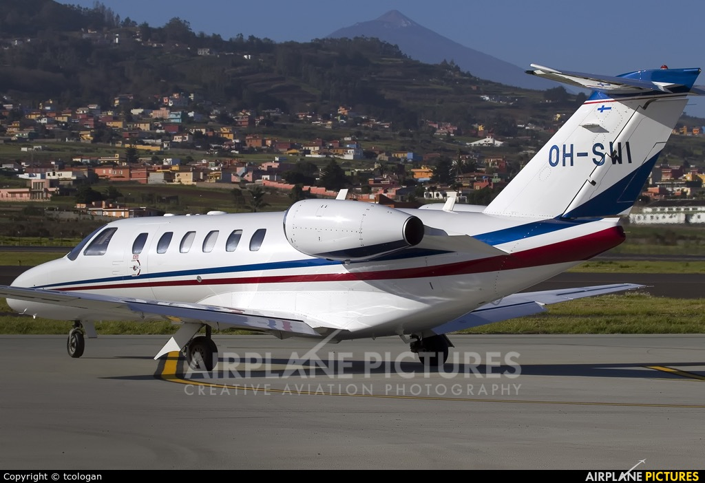 ScanWings OH-SWI aircraft at Tenerife Norte - Los Rodeos