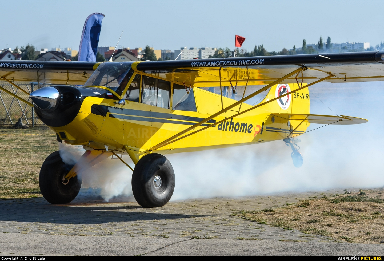 Private SP-AIR aircraft at Warsaw - Babice