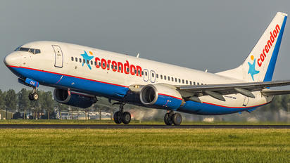 PH-CDG - Corendon Dutch Airlines Boeing 737-800