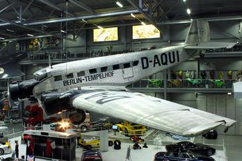 D-AQUI - Lufthansa (Berlin-Stiftung) Junkers Ju-52