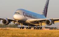 #2 Qatar Airways Airbus A380 A7-APB taken by Maxime Thibert