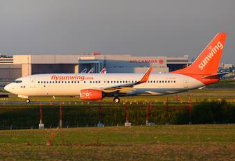 C-FYJD - Sunwing Airlines Boeing 737-800