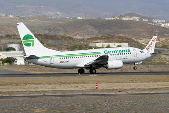 D-AGET - Germania Boeing 737-700