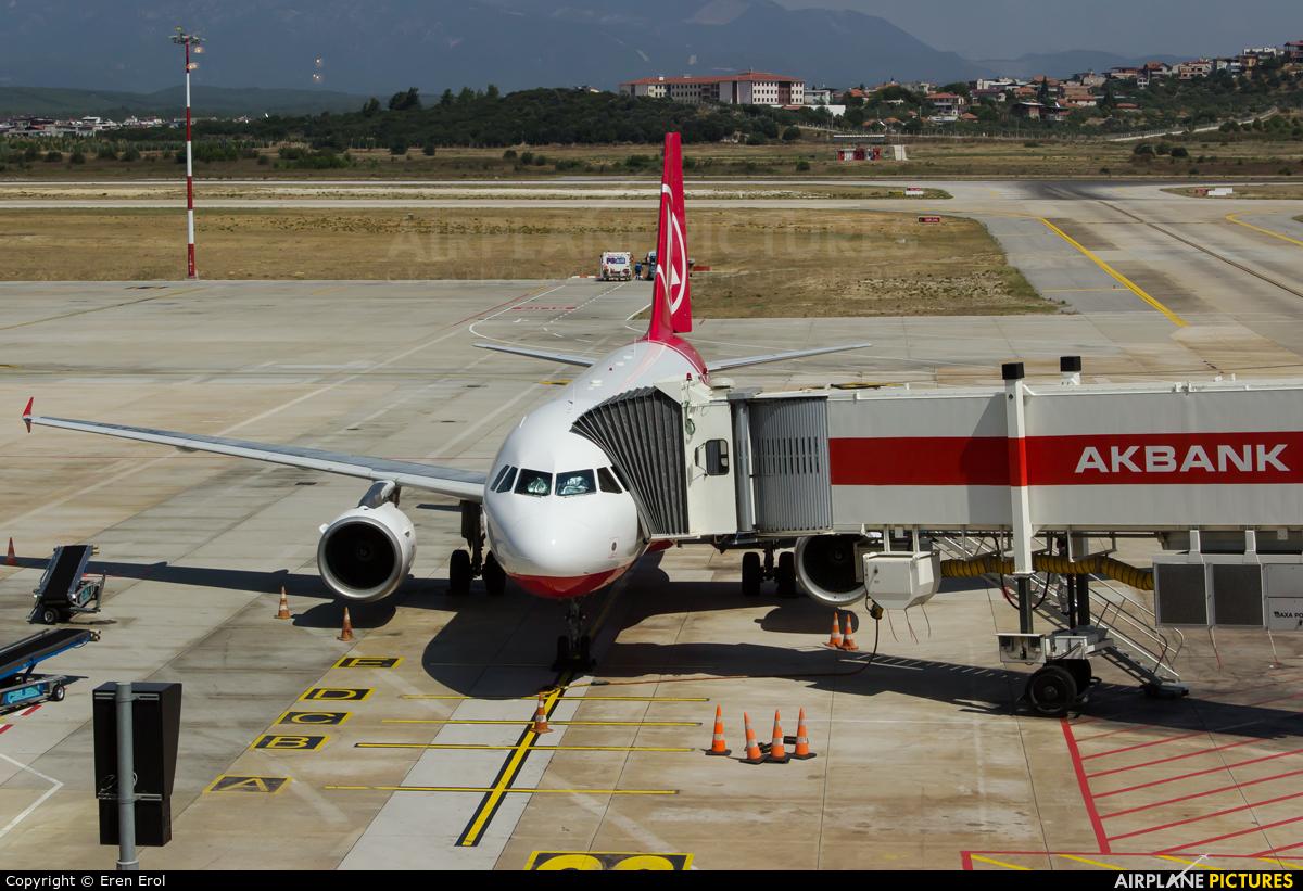 Atlasglobal TC-ATD aircraft at Izmir Intl