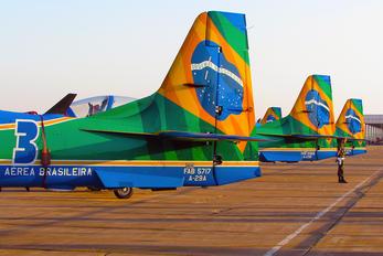 """FAB-5717 - Brazil - Air Force """"Esquadrilha da Fumaça"""" Embraer EMB-314 Super Tucano A-29A"""