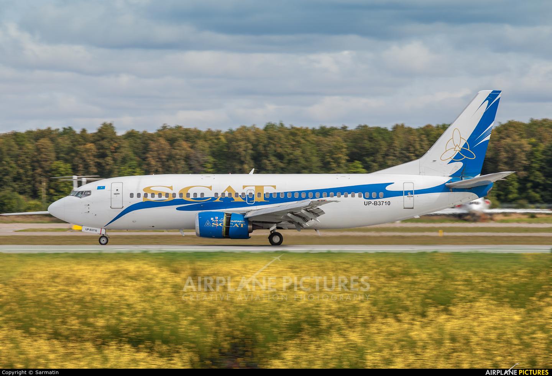 SCAT Air UP-B3710 aircraft at Kazan