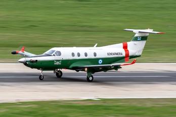 GN-810 - Argentina - Gendarmeria Pilatus PC-12