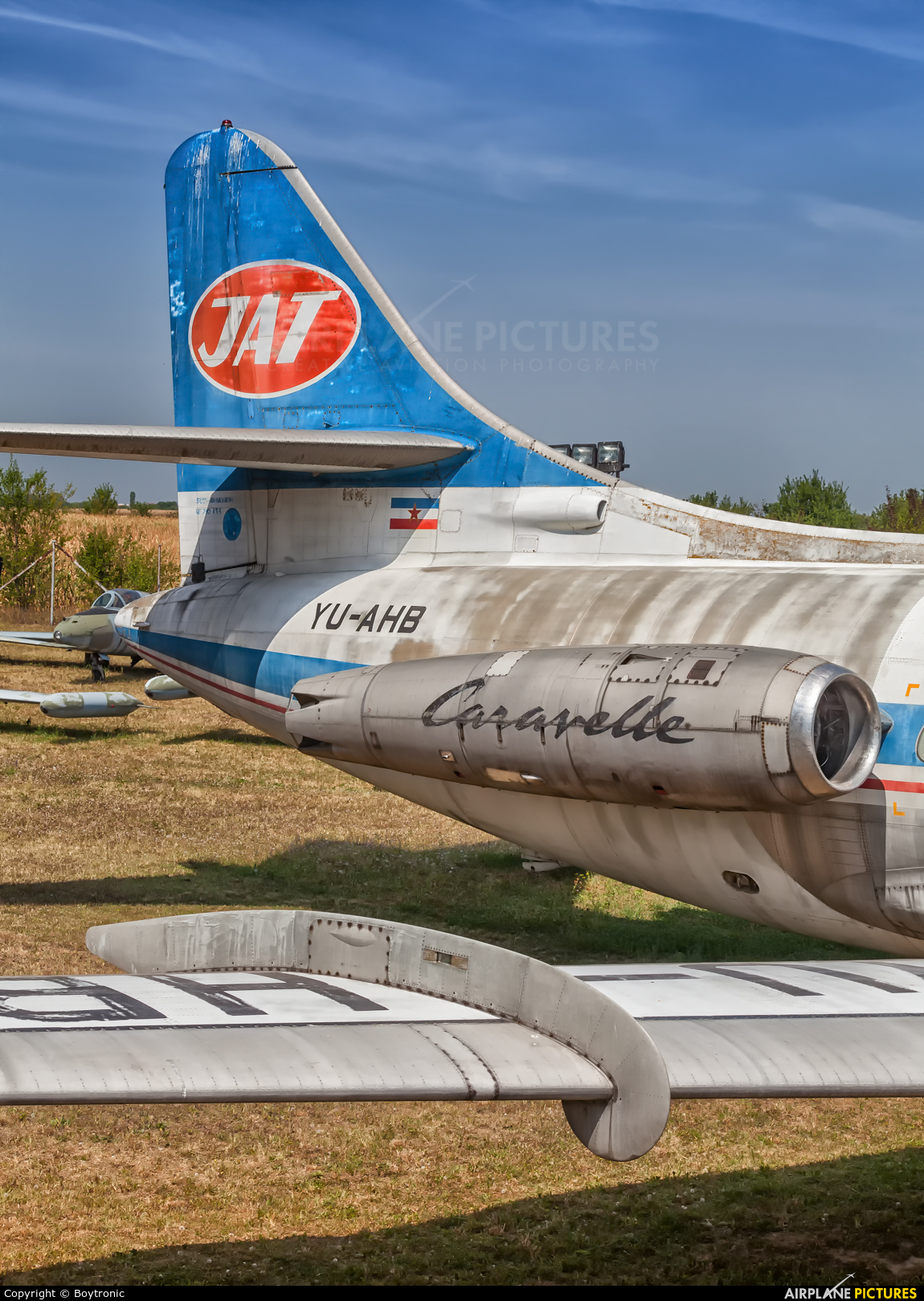 JAT - Yugoslav Airlines YU-AHB aircraft at Off Airport - Serbia