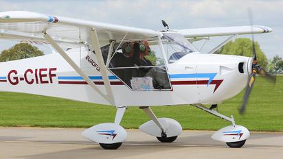 G-CIEF - Private Aeropro Eurofox 912