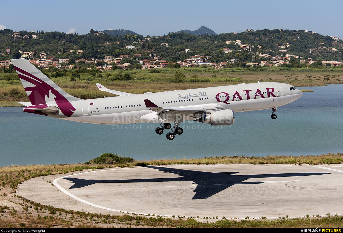 Qatar Amiri Flight A7-HJJ aircraft at Corfu - Ioannis Kapodistrias