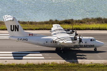C-FJHQ - United Nations de Havilland Canada DHC-7-100 series