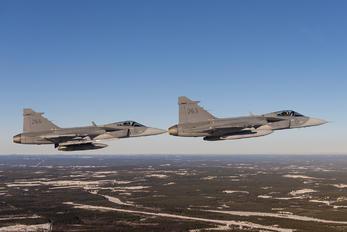 39263 - Sweden - Air Force SAAB JAS 39C Gripen