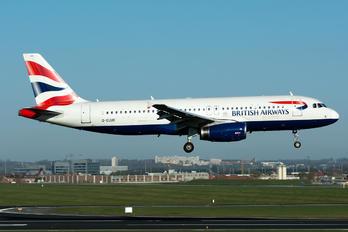 G-EUUO - British Airways Airbus A320