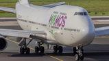 First visit of Wamos Air to Düsseldorf
