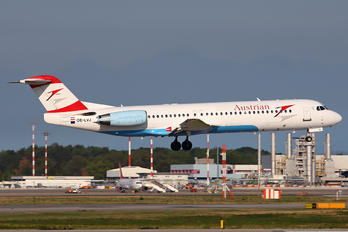 OE-LVJ - Austrian Airlines/Arrows/Tyrolean Fokker 100