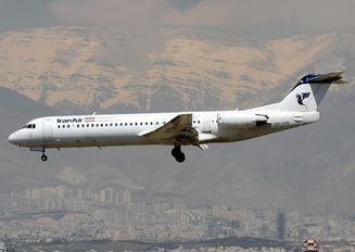 EP-CFR - Iran Air Fokker 100