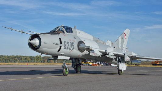 #1 Poland - Air Force Sukhoi Su-22M-4 8205 taken by Roman N.