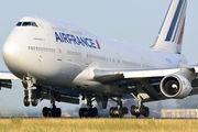 F-GITJ - Air France Boeing 747-400 aircraft