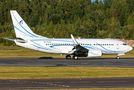 """Gazpromavia 737 bringing the """"Nizhny Novgorod Torpedos"""" ice hockey team in Helsinki"""