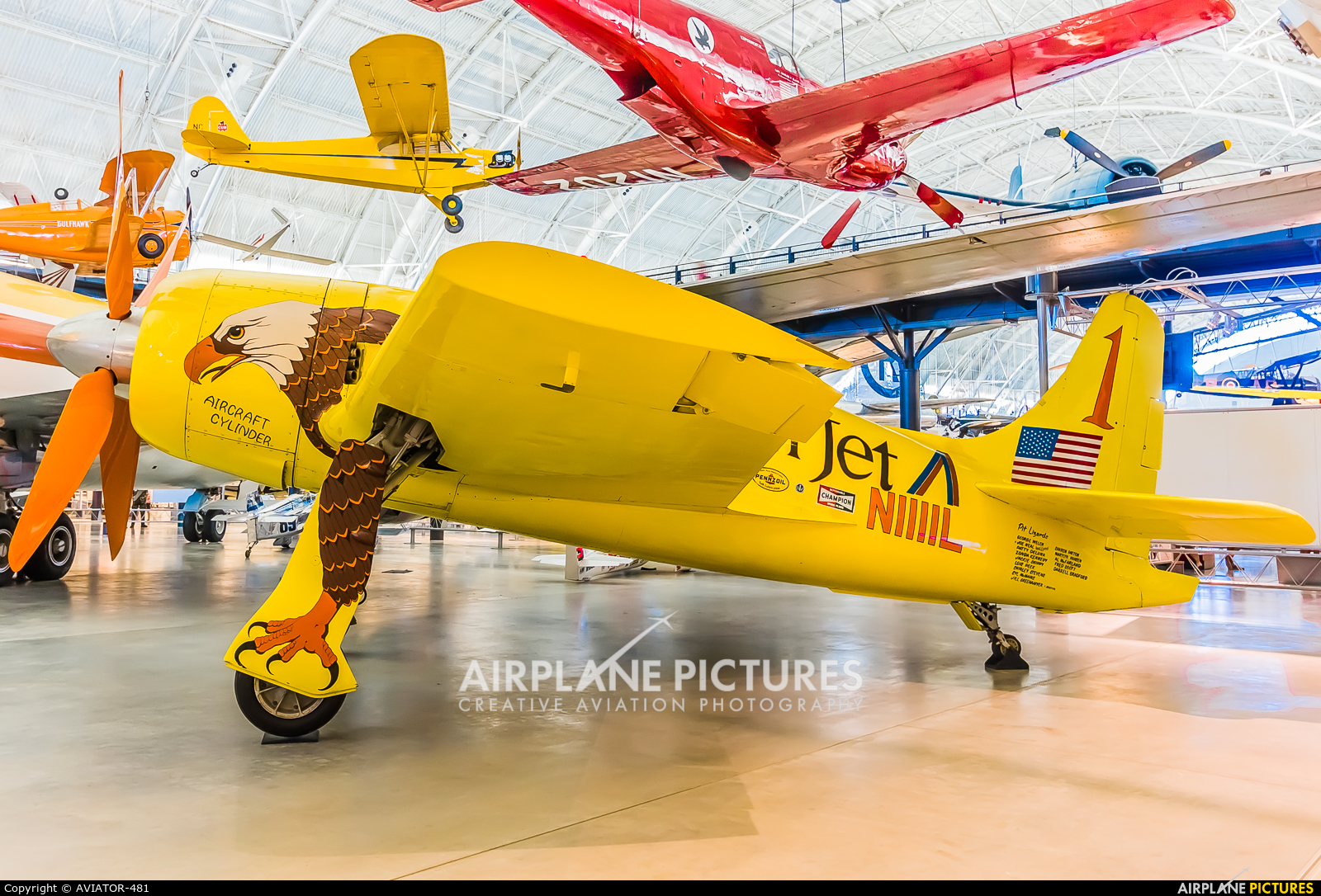 American Jet N1111L aircraft at Steven F. Udvar-Hazy Center