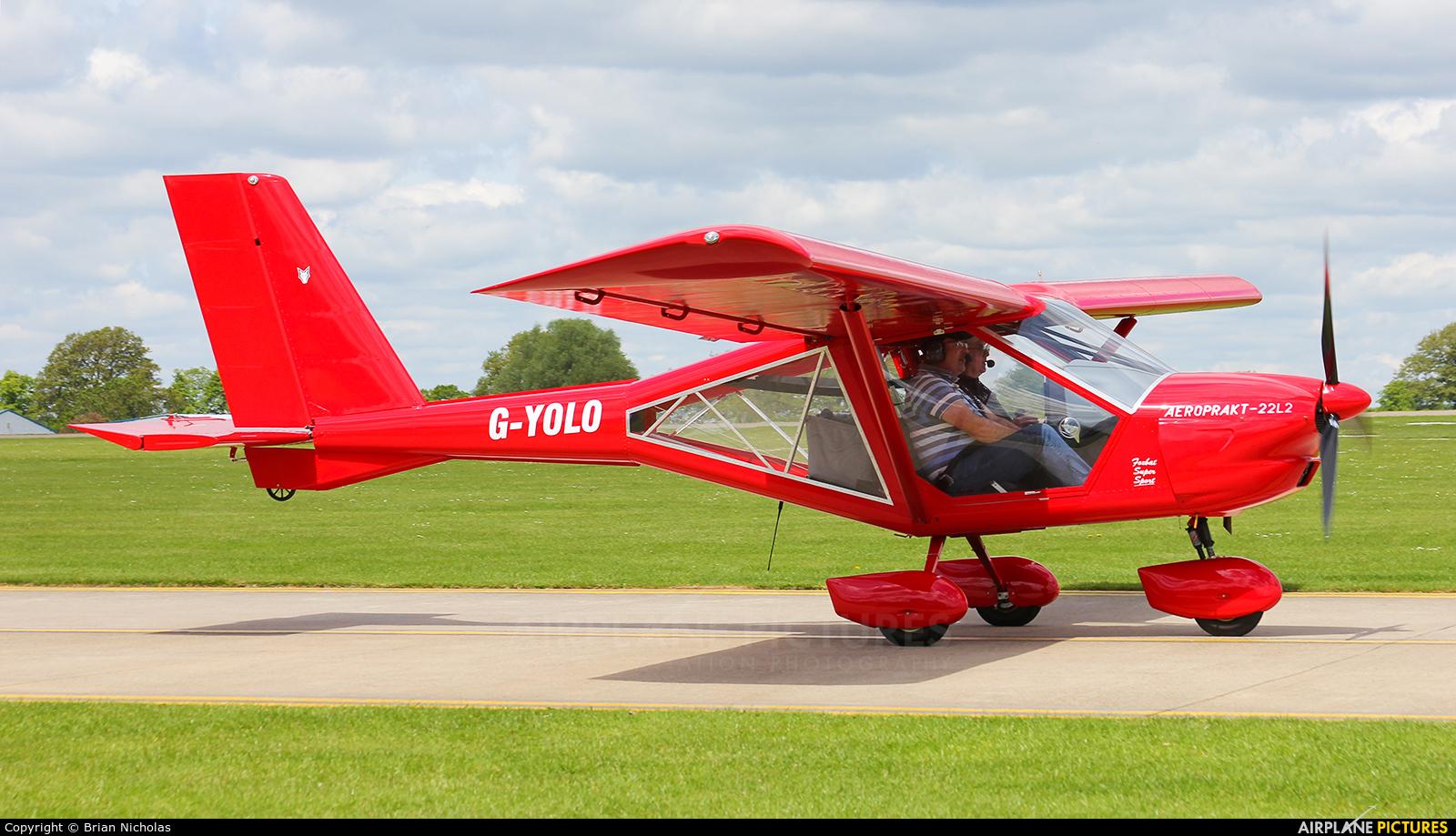 Private G-YOLO aircraft at Northampton / Sywell